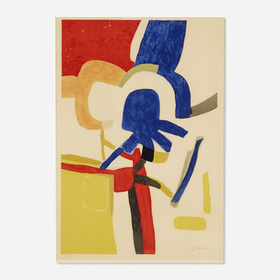 Maurice Estève, 'Composition (Totelem)', 1955