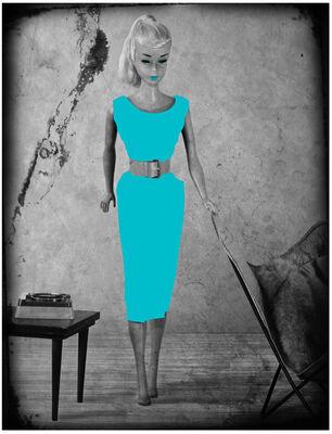 Lars Tunebo, 'Barbie Batchair, Turqoise', 2019
