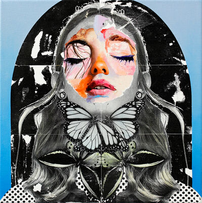 AM DeBrincat, 'Butterfly Bowtie', 2018