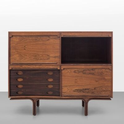Gianfranco Frattini, 'A four compartment credenza', 1960