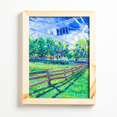 Charlie Hudson, 'Fence Line', 2020