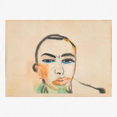 Francesco Clemente, 'Untitled (Self-Portrait)', 1984