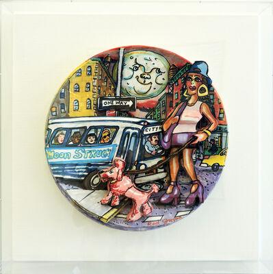 Red Grooms, 'Moonstruck, Cher (Original Plate) ', 1994