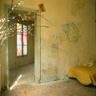Bernard Faucon, 'La quatrième chambre d'amour (le rameau de Cersier)', 1985
