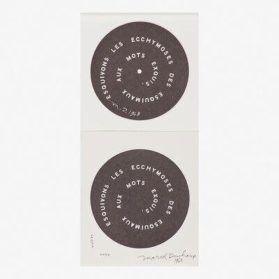 Marcel Duchamp, 'Puns, Esquivons', 1968