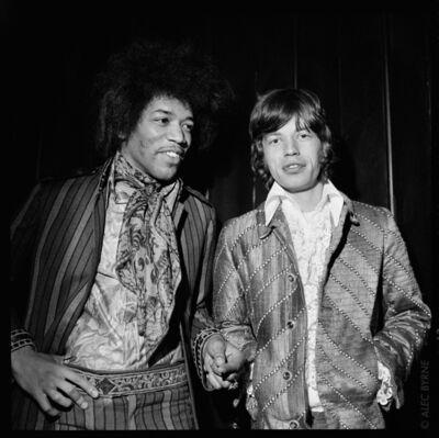 Alec Byrne, 'Mick & Jimi', 1967