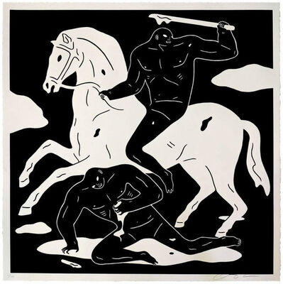 Cleon Peterson, 'The Nightcrawler - Black', 2015