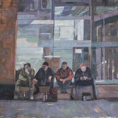 Ceri Allen, 'On the wall'