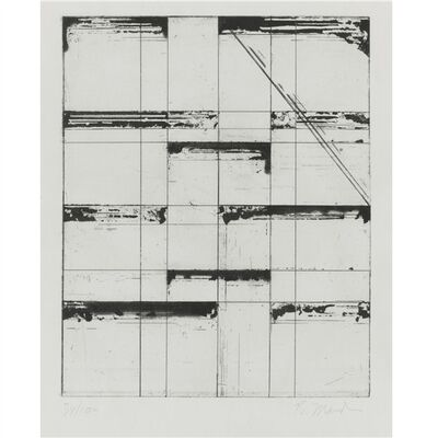 Brice Marden, 'Etching for Parkett', 1985