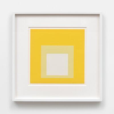 Josef Albers, 'Opalescent', 1965