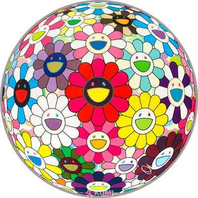 Takashi Murakami, 'Flower Ball: Open your hands wide', 2016