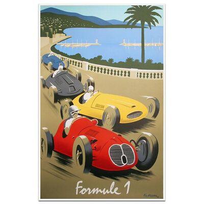 Pierre Fix-Masseau, 'Monte Carlo Formule 1', 1988