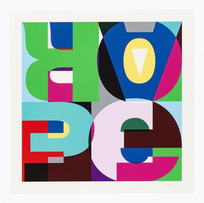 FRONT Canvas City Portfolio, 'HEIMO ZOBERNIG (Austrian, born 1958)Hope Fear Fade, 2018', 2018