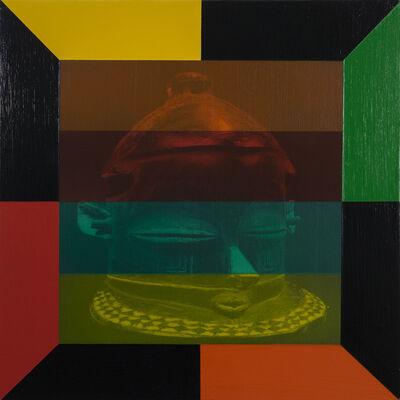 Rico Gatson, 'Mask Painting #6', 2018