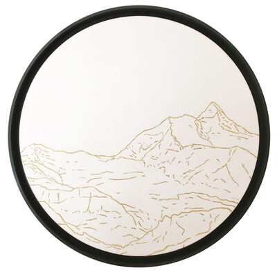 Philippe Cramer, 'Jungfrau Golden Landscapes, tapestry with gold thread ', 2012