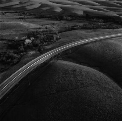 Terry Evans, 'Interstate 35 intersecting the Flint Hills, Kansas'