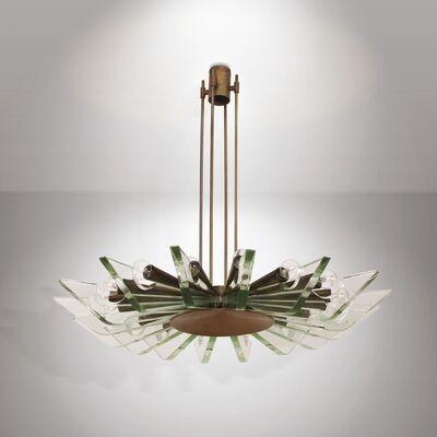 Max Ingrand, 'a chandelier, Fontana Arte', ca. 1960