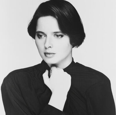 Terry O'Neill, 'Isabella Rossellini', 1984