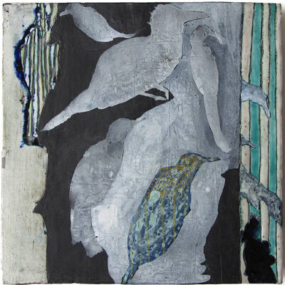Anne Francey, 'Birds and Geometry No. 3'