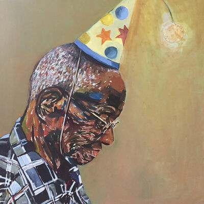 Beverly McIver, 'Party Hat     ', 2015