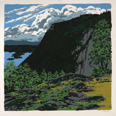 Neil G. Welliver, 'Maiden's Cliff', 1973