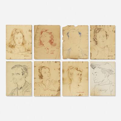 Franz Kline, 'eight works', c. 1940