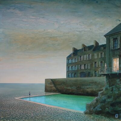 Philippe Charles Jacquet, 'Le Balcon'