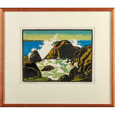 "William S. Rice, '""Incoming Tide - Monterey,"" California', ca. 1920"