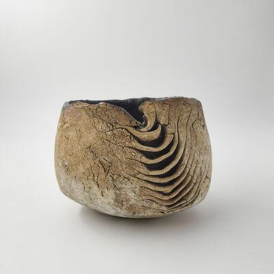 "Yukiya Izumita 泉田之也, '""Sekisoh""Layers tea bowl', 2018"