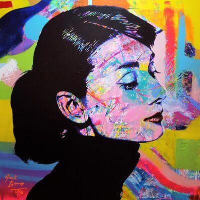 Jack Graves III, 'Audrey Hepburn Icon V', 2019