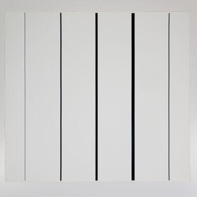 Aurelie Nemours, 'le vertical II', 1984
