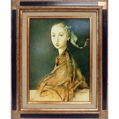 Georges Mazilu, 'Portrait de femme', 1992
