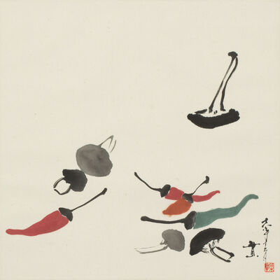 Minol Araki, 'Peppers and Mushrooms (MA-311)', 1978
