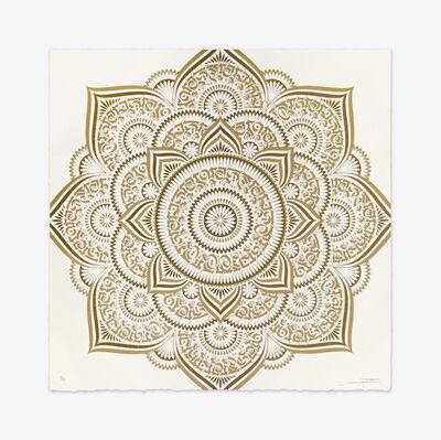 Cryptik, 'Gold Lotus', 2018