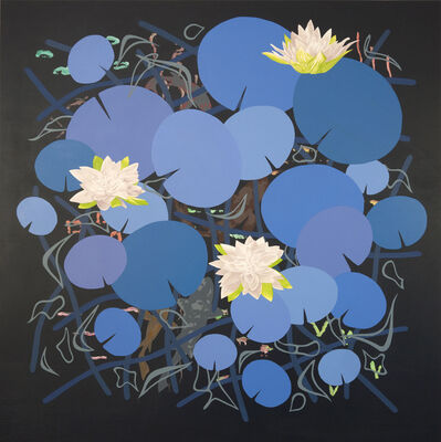 Roland Reiss, 'Lilies in Blue ', 2014