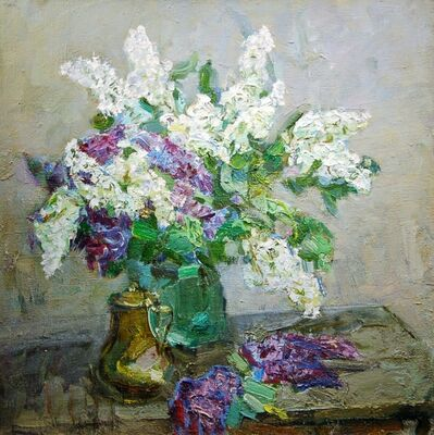 Fedor Zakharov, 'Spring Still Life With Lilacs', 1983