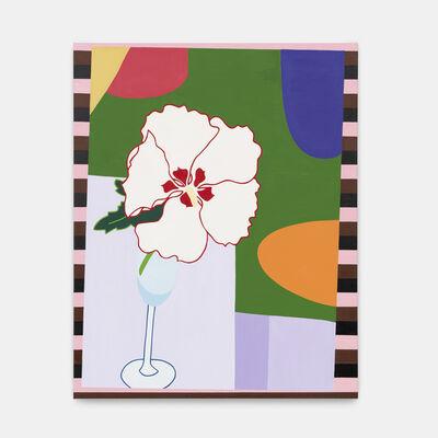 Tessa Perutz, 'Isabelle's Hibiscus, Bourgogne #2 (Esprit du Roi Soleil),', 2019