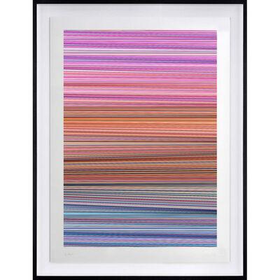 Kai & Sunny, 'Horizon - 2  (Blue, Orange, Lilac)', 2020