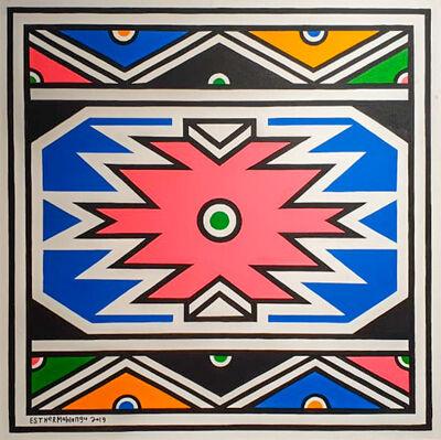 Esther Mahlangu, 'Ndebele Abstract - C000987', 2019