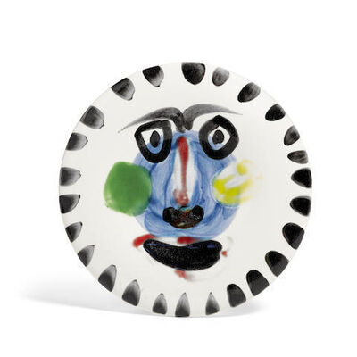 Pablo Picasso, 'Visage no. 202', 1963