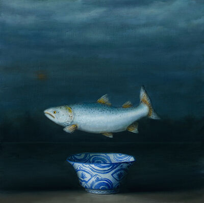 David Kroll, 'Seascape (Salmon)', 2020