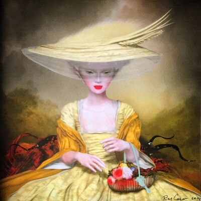 Ray Caesar, 'Flower Garden'