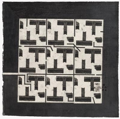 Pavel Makov, 'square garden black', 2015