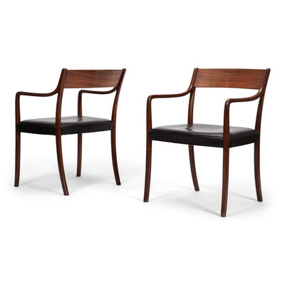 Ole Wanscher, 'Pair of armchairs', 1961