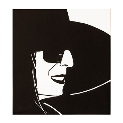 Alex Katz, 'Black Hat Ada', 2012