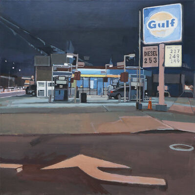 Aaron Hauck, 'Gas Station with Directions', 2016
