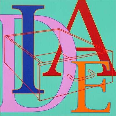 Michael Craig-Martin, 'Untitled (Idea)', 2010