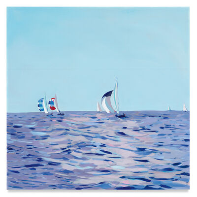 Isca Greenfield-Sanders, 'Sailboats', 2020