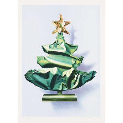 Yrjo Edelmann, 'Wrapped Christmas Tree ', 2001