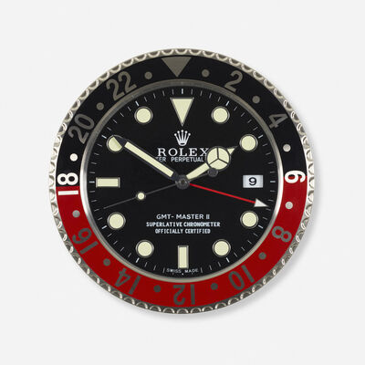 Rolex, 'GMT Master II Series dealer clock', c. 2000